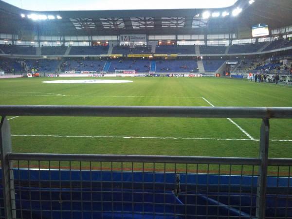 Garde corps Stade Bonal à Sochaux